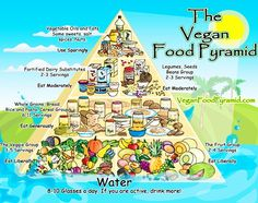 This infographic from VeganFoodPyramid.com.  What do you think? Could you go vegan for one week?