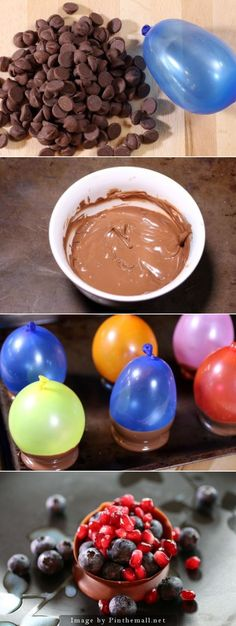 DIY chocolate cups #chocolatecups