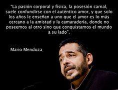 Mario Mendoza, Sobre el Amor