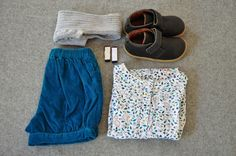 A sweet printed blouse adds something extra to your wee ones capsule wardrobe Printed Blouse, Capsule Wardrobe, Grey And White, Weather, Turquoise, Cool Stuff, Sweet, Girls, Blue