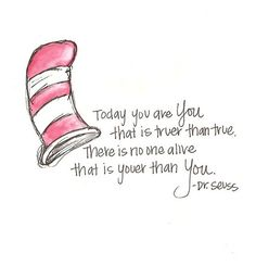 Dr. Seuss: Somehow he always knows what to say