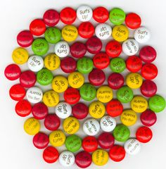 How could M&Ms be any more fun to eat than when it has your reunion name on it?!!