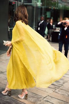 we just love how this dress flows in the wind!