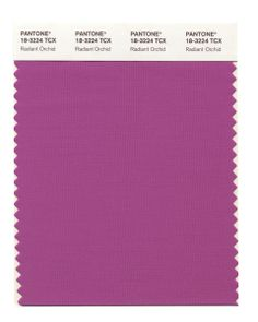 Radiant Orchid is the new color for 2014 according to Pantone - love this color with pink and white peonies!  www.peonyhotline.com