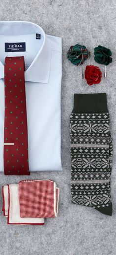 Neckties ($19) and tie bars ($15) at TheTieBar.com
