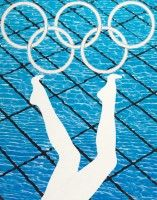 Andrea Hamilton - Divers (2011)   Part of the Official London 2012 Olympic Collection