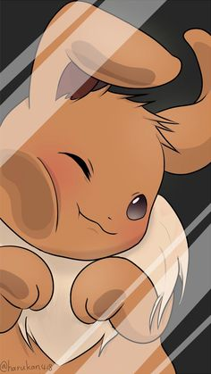 52 new Ideas for wallpaper iphone anime pokemon Eevee Wallpaper, Cute Pokemon Wallpaper, Kawaii Wallpaper, Cute Cartoon Wallpapers, Animes Wallpapers, Rabbit Wallpaper, Wallpaper Wallpapers, Screen Wallpaper, Iphone Wallpapers
