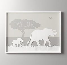 personalized animal silhouette art elephant.jpg