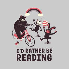 I'd Rather Be Reading - NeatoShop