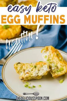 Whether you are following a keto diet or not these Easy Keto Egg Muffins are filling and delicious! The perfect way to get your morning started right! Made with fresh veggies, turkey bacon, eggs and cheese. Serve them right out of the oven or make ahead and pop them in the microwave for a quick and easy low-carb breakfast on-the-run. | The Delicious Spoon @thedeliciousspoon #ketoeggcups #healthybreakfast #howtomakeketoeggcups #thedeliciousspoon