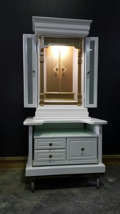 White elegant butsuda    Model 880gl /600  Do visit www.butsudan2u.com For more information