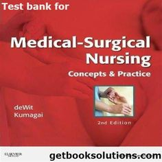 Test bank for canadian fundamentals of nursing 5th edition by potter test bank for medical surgical nursing concepts practice 2nd edition fandeluxe Image collections