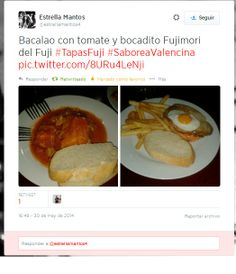 Las dos tapas de #TapasFuji de #SaboreaValencina via @Estrellamantos4