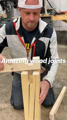 Diy Furniture Plans Wood Projects, Wood Shop Projects, Small Wood Projects, Wood Furniture, Woodworking Joints, Easy Woodworking Projects, Woodworking Techniques, Woodworking Plans, Woodworking Shop