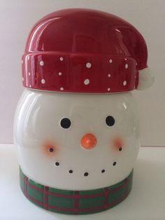 Cheryl & Co. Snowman Cookie Jar