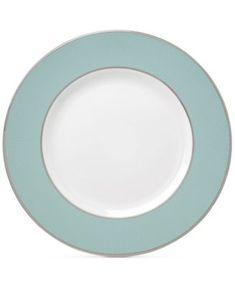 Brian Gluckstein by Lenox Clara Aqua  Bone China Dinner Plate   macys.com