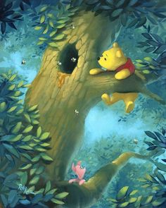Winnie the Pooh  -  Disney Artwork by Rob Kaz