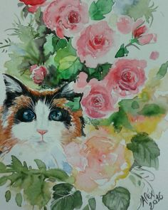 My new watercolor.