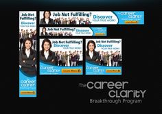 Create header and banner ads for the Career Clarity Breakthrough Program by heroicdesign