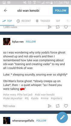 Star wars obi wan force ghost star wars the last jedi
