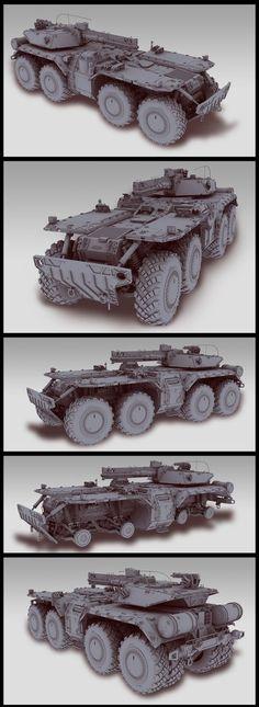 ArtStation - Tank, Stas Gorshenin