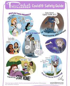 Pocket Princesses Safety Guide by Amy Mebberson Disney Pixar, Walt Disney, Disney Facts, Disney Fan Art, Cute Disney, Disney And Dreamworks, Disney Magic, Pocket Princesses, Pocket Princess Comics