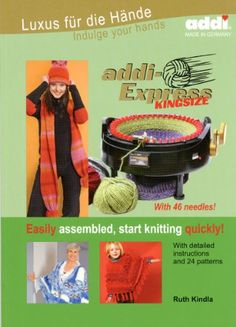 addi Express Kingsize with 46 needles Pattern Book -- Find out more details @ http://www.laminatepanel.com/store/addi-express-kingsize-with-46-needles-pattern-book/?xy=270616001043