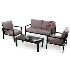 Outdoor Furniture Sets, Outdoor Decor, Polyester, Dining Bench, Home Decor, Porto, Table Legs, Glass Tray, 2 Seater Sofa