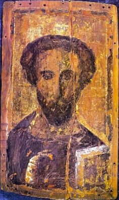 This painting is nearly 1500 years old and was found in an Egyptian Church. By all accounts it is a 1500 year old representation of the historical figure known as Jesus…. Rastafari Live SEEN Byzantine Icons, Byzantine Art, Religious Icons, Religious Art, Mount Sinai Egypt, Saint Catherine's Monastery, Christ Pantocrator, Art Ancien, Orthodox Icons