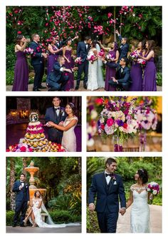 A Friar Tux moment at Alyssa & Jonathan's wedding. True Photography www.whitesatinwed… A Friar Tux moment at Alyssa & Jonathan's wedding. True photography www. Plum Wedding Colors, Grey Purple Wedding, Wedding Color Schemes, Fall Wedding, Dream Wedding, Western Wedding Dresses, Decoration, Marie, Flower Colors