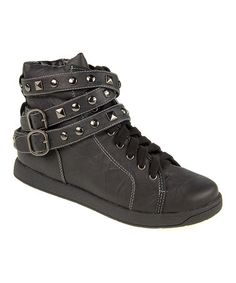 Take a look at this Black Don't Touch Davi Hi-Top Sneaker on zulily today! Ordered mine a few weeks ago, they arrived today, I can't wait to wear these!