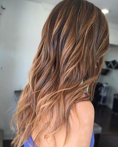 Sand and Ginger Blend With Shadow Roots