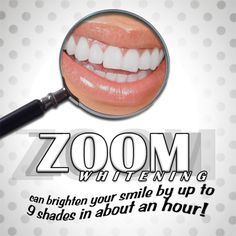 Zoom whitening can brighten your smile by up to 9 shades in about an hour! Zoom Whitening, Teeth Whitening That Works, Teeth Whitening Remedies, Smile Whitening, Cosmetic Dentistry Procedures, Chocolate Benefits, Color Correcting Concealer, Tooth Powder, Cosmetic Treatments