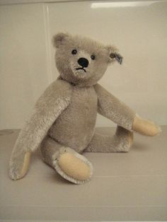 In my ETSY Shop: Steiff Vintage Richard Steiff Teddy ~ One of the first replica bears made by Steiff in the 1980s