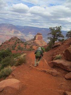 Grand Canyon Hike: South Kaibab Trail - Tonto Trail West - Bright Angel Trail