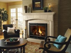 decoration magnificent gas lines for fireplace including wire mesh fireplace doors and faux brick fireplace liner beside a pair of black metal pillar candle holders on travertine fire hearth