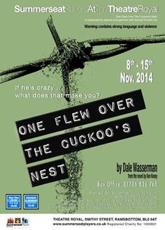 One Flew Over The Cuckoo's Nest 8th -15th November at Summerseat Players