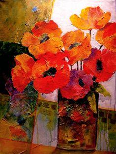 Orange Dream ~ by Carol Nelson ~ http://carolnelsonfineart.com/