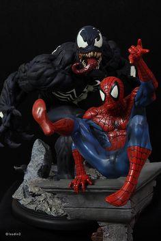 Venom & Spider-man | Statue | Kotobukiya & Bowen Designs