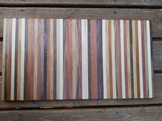 Purple heart, maple, walnut, oak, hickory, alder, mahogany. What else could you possibly want?! Check out more of our amazing boards! Maple Walnut, Wood Cutting Boards, Etsy App, Craft Supplies, Vintage Items, Hardwood, Unique Gifts, Etsy Seller, Purple