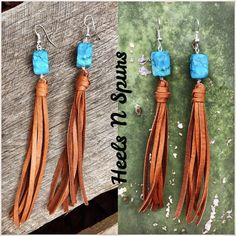 Gypsy Cowgirl Tassel Earrings #fashionjewelrytips #jewelrytips