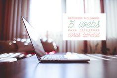 recursos molongos: 5 webs donde descargar cosas bonitas