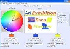 Create correct color schemes for graphic designs with Free Colorwheel