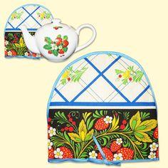 SHOP-PARADISE.COM Teekannenwärmer, Hochloma, 100% Baumwolle 3,35 € http://shop-paradise.com/de/teekannenwaermer-hochloma-100-baumwolle
