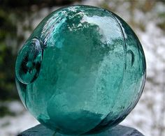 Glass Fishing Float in one of my fav colors