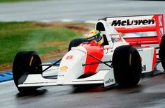 McLaren 23 years ago today, Ayrton Senna was victorious at a rain-soaked Donington. Possibly one of his greatest-ever victories? You decide.