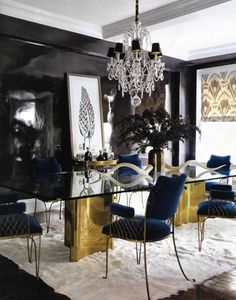 gotik yemek odasi fikirleri ilginc dekorasyon tarzlari karanlik los temalar (5)