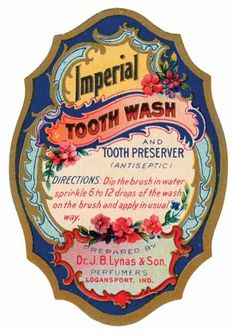 A cover gallery for Vintage Label Art Vintage Tags, Vintage Labels, Vintage Ephemera, Vintage Postcards, Vintage Prints, Vintage Packaging, Vintage Graphic, Art Nouveau, Best Teeth Whitening