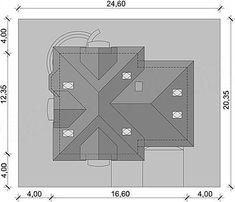 Usytuowanie projektu Dandys 1 G2 na działce Floor Plans, 1, Flooring, How To Plan, Wood Flooring, Floor Plan Drawing, Floor, House Floor Plans