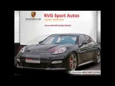PORSCHE PANAMERA TURBO 2010 // RVG Sport Autos.